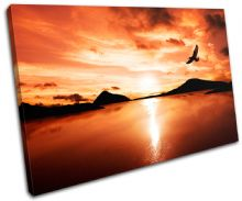 Bird Lake Sunset Seascape - 13-1815(00B)-SG32-LO
